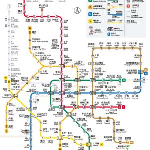 路線拡大する台北MRT