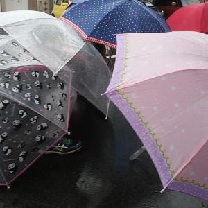 傘で色々な遊びをしたもんだぁ☔