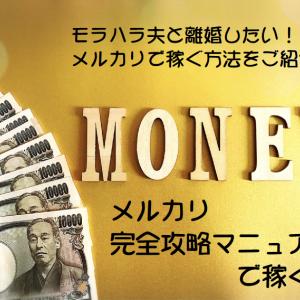 メルカリで売るコツはこれ!モラハラ離婚準備で毎月5万円稼ぐ方法