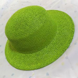 ワンピースルフィの麦わら帽子を制作している石田製帽(笠岡市)