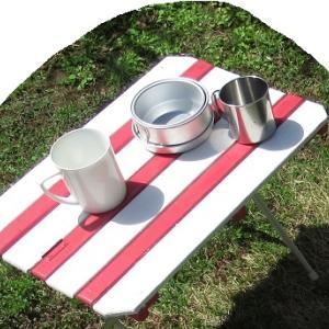 自分スタイルのソロキャンプ用品 アルミパイプで軽量テーブル自作
