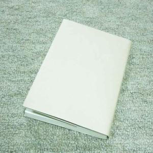 クラフト紙で文庫本サイズのオリジナルブックカバー作った