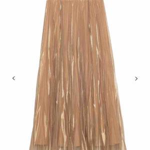 変形シアープリーツスカート購入