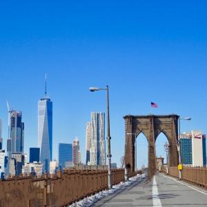 【NY】ニューヨークを肌で感じるなら、ブルックリンブリッジを歩いて渡ってみる。