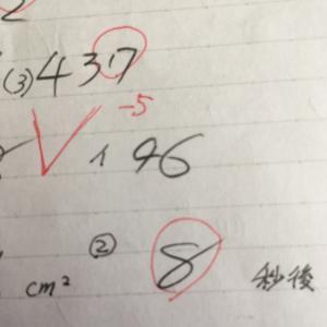 息子の数字の書き方がヤバ~イ件