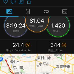 羽村練習走行