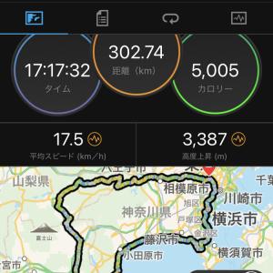 BRM919 富士熱海300完走