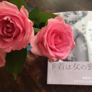 息子から薔薇の花束プレゼント✨