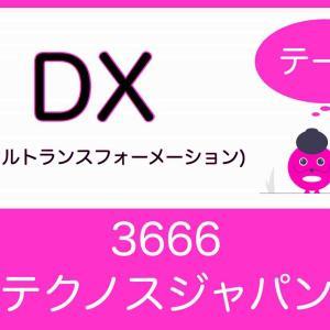 【3666】テクノスジャパン ~DX(デジタルトランスフォーメーション)~