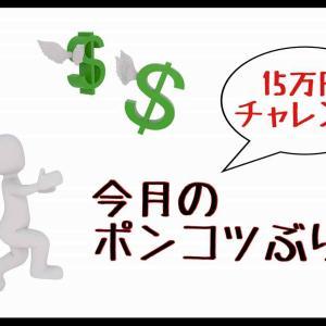 2021年8月の15万円チャレンジ結果