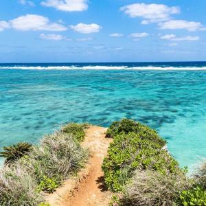 恩納村 インスタ映えの写真スポット ザネー浜 beach51