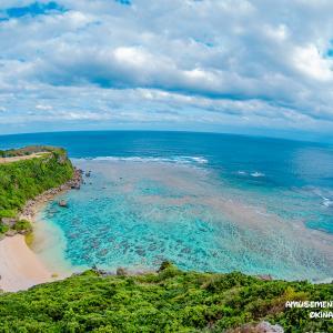 沖縄 絶景の写真スポット 宮城島の果報バンタ(カフーバンタ)
