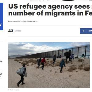 メキシコの国境を越えた2月の不法移民は7000人【移民による不安】