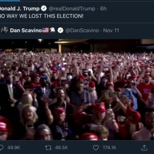 【米大統領選】トランプ陣営は元気です。