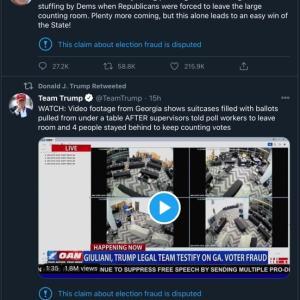【米大統領選挙】主要メディアとTwitterでの情報の乖離がどんどん進んでいます。