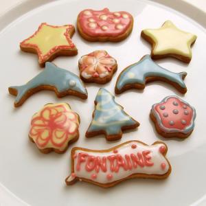 バレンタインはアイシングクッキーで愛を込める♥