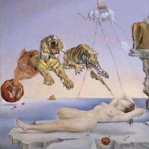 【夢コラム】ダリが夢をヒントにして描いた作品