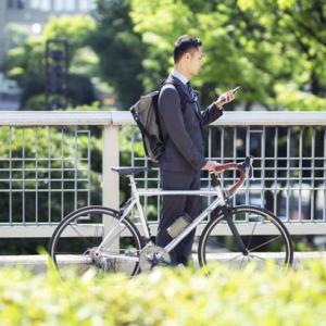 自転車通勤の増加