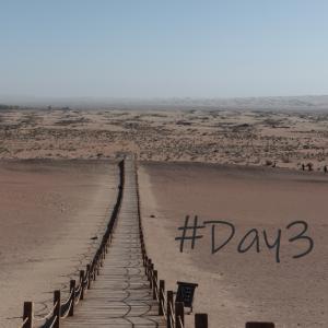 氷山地帯の次は砂漠地帯へ!中国は絶景だらけ#青海・甘粛ツアー3日目