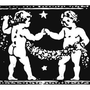 【フリー素材】古い占星術の本のスキャン【アンティーク/ヴィンテージ】