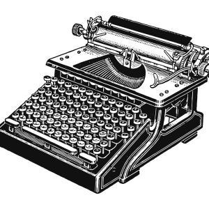 【フリー素材】いろんなタイプライター Typewriter【アンティーク・ビンテージ】