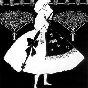 【フリー素材・商用可】オーブリー・ビアズリー 世紀末美術【アンティーク・ビンテージ】
