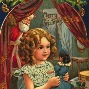 【フリー素材・商用可】いろんなクリスマスカード【アンティーク・ビンテージ・パブリックドメイン】