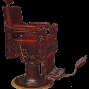 【フリー素材・商用可】レトロな床屋さん【アンティーク・ビンテージ・パブリックドメイン】