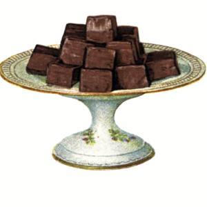【フリー素材・商用可]】至福のチョコレート【アンティーク・ビンテージ・パブリックドメイン】