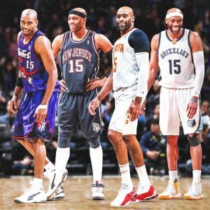 快挙! NBA史上初の4つの年代でプレーしたビンス・カーター