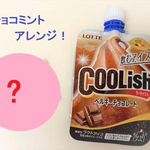 まるでチョコミント?クーリッシュと常備してる○○で簡単チョコミント風アイスを作ってみた!