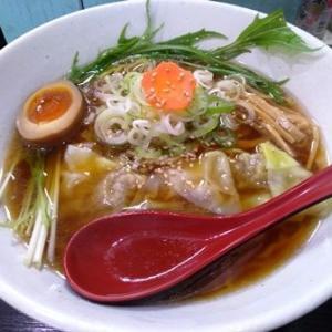 札幌市豊平区平岸 さっぽろらぁめん くわの実 期間限定『ワンタン麺』