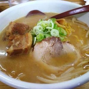札幌市白石区流通センター ラーメン白熊で味噌豚角煮ラーメン&焼きめし(14時から提供)