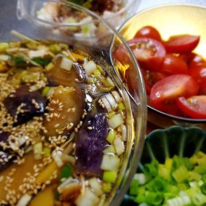 今日の晩ご飯  変わりタレ蕎麦
