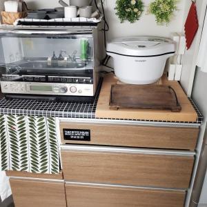 キッチンボードの収納