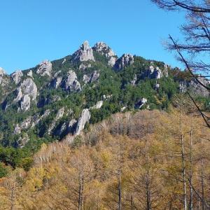 【ヤマノススメ聖地巡礼】瑞牆山・金峰山テント泊で縦走してきた