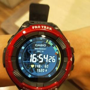 腕時計をあまりしない私がCASIO PRO TREK WSD-F21を半年間使ってみて山では腕時計が必須だなと思った話HR