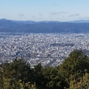 京都大文字山で京都を一望して観光も楽しめた山旅