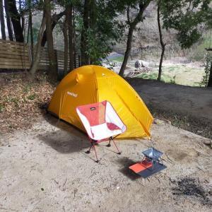 茨城設備充実でソロキャン割引もあるつくば市のフォンテーヌの森でソロキャンプ