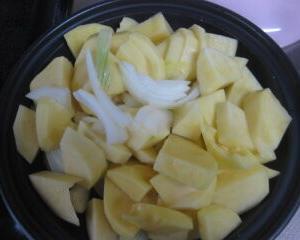 ポテトサラダ作った