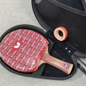 中学時代に使っていた、卓球のラケットをご紹介!