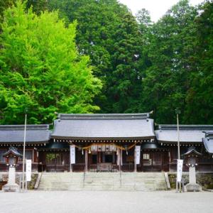 【飛騨国一之宮】水無神社(みなしじんじゃ)と位山(くらいやま)