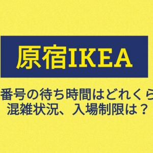 原宿IKEA/整理券の配布(発券)・待ち時間はどのくらい?混雑状況・入場制限は?【随時更新】