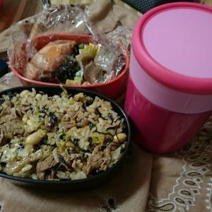 お弁当づくりは、早食い防止に効果ありです。