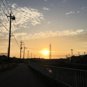 土日はロングスロージョグ合計42.2km:体力低下がさらに鮮明に