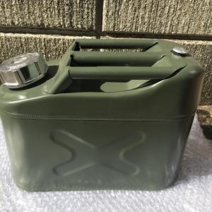 見た目の良い 中国製ジェリ缶(ガソリン携行缶)