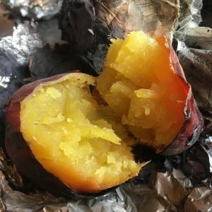 冬のオヤツに 焼き芋