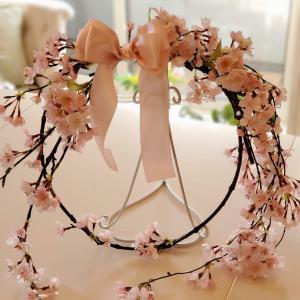 桜が咲く頃にレッスンにいらしてくださいました