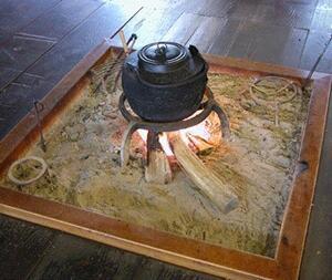 囲炉裏の日!