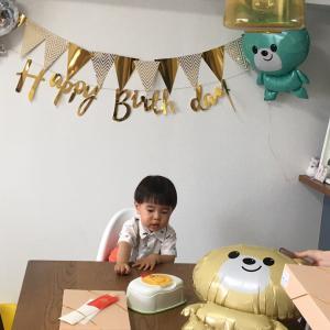 誕生会へ!